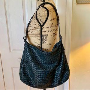 Bottega Veneta soft Woven Leather Shoulder Bag